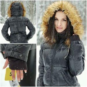 f7e9cc499f0 S13 Women s Kylie Faux Fur Trim Puffer Jacket